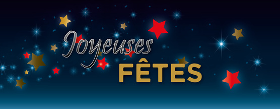 Joyeuses fêtes, emb terrasse bois Saint Renan